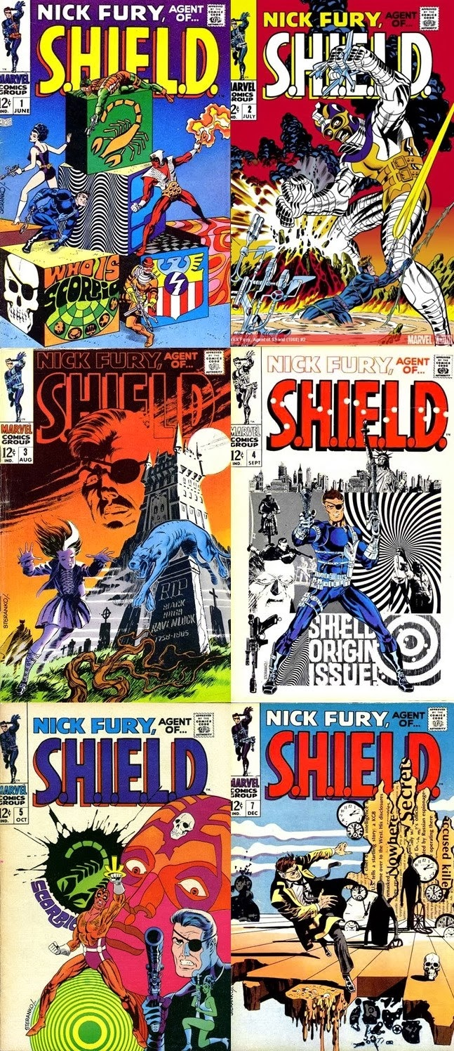 Nick Fury, Agent of S.H.I.E.L.D. - Jim Steranko