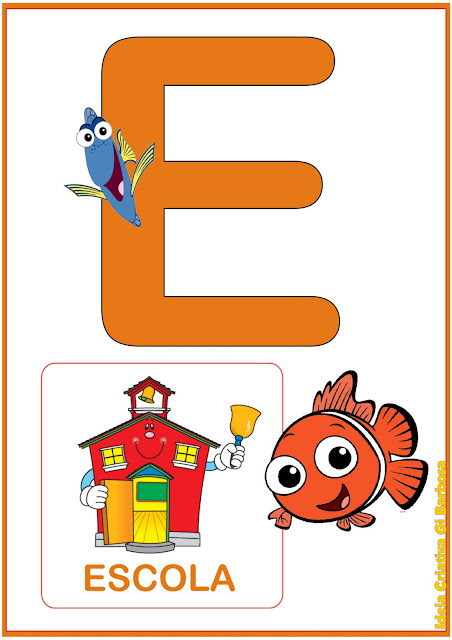 Vogais Procurando Nemo