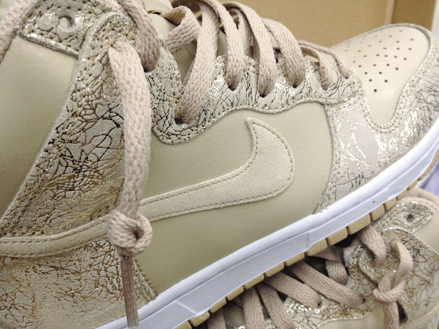 Nike Dunk Highs in Grain