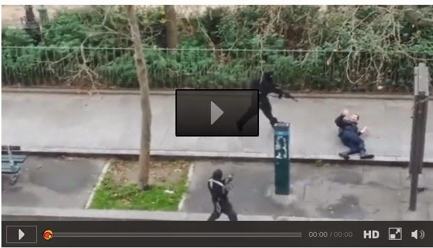 Atentado em Paris: Vídeo mostra policial sendo executado por terroristas