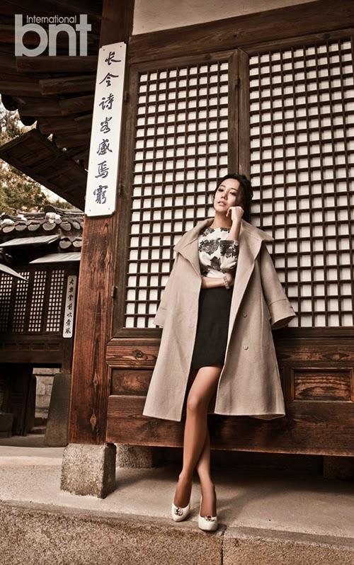 Go Eun Ah - bnt International December 2014