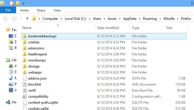 Firefox Folder