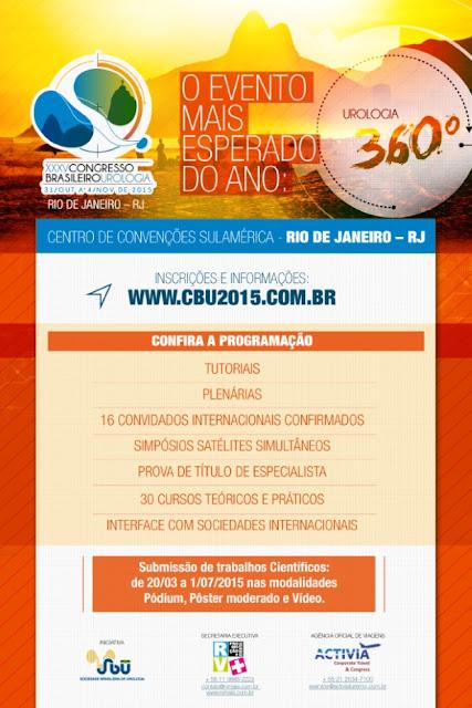 Congresso Brasileiro de Urologia