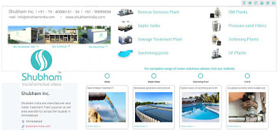 Waste Water Treatment Plant Manufacturers by Shubham Inc