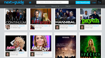 NextGuide tu sitio favorito para ver series online gratis