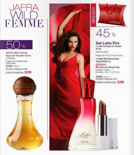 Jafra Wild Femme Febrero 2015