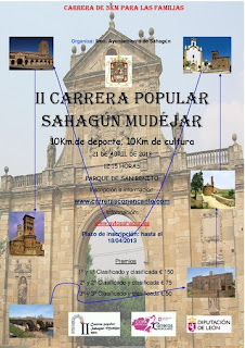 Carrera SAhagun Mudejar www.mediamaratonleon.com