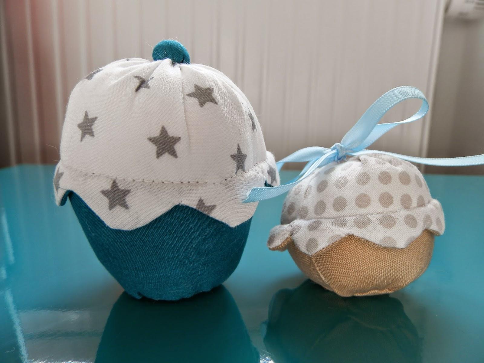 Coton et Création : cupcakes en tissu