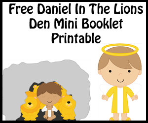 Daniel In The Lions Den Mini Booklet