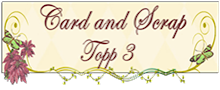 Top 3 hos Cardandscrap utfordring 20