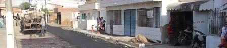Iniciadas obras de asfalto da Rua Dr. José Cordeiro