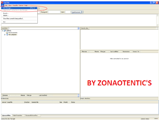 Upload File Website Menggunakan FileZilla