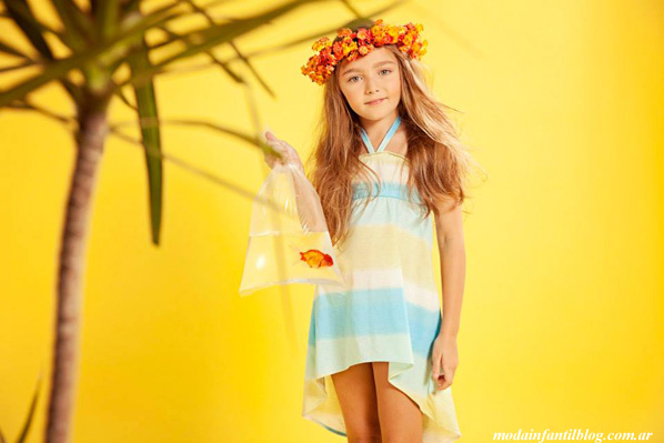 Moda verano 2014 vestidos para nenas