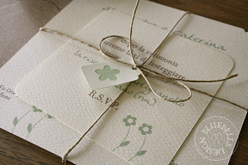 Famoso Bluebells Design: Wedding Suite: un matrimonio Country YU87