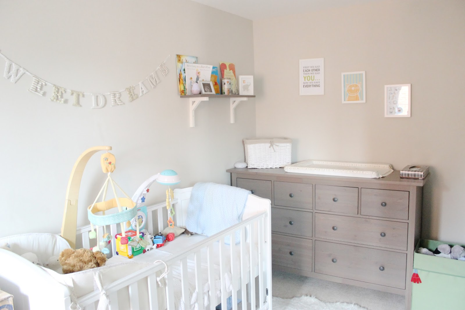 room tour ethans nursery updated version bump to baby beyond