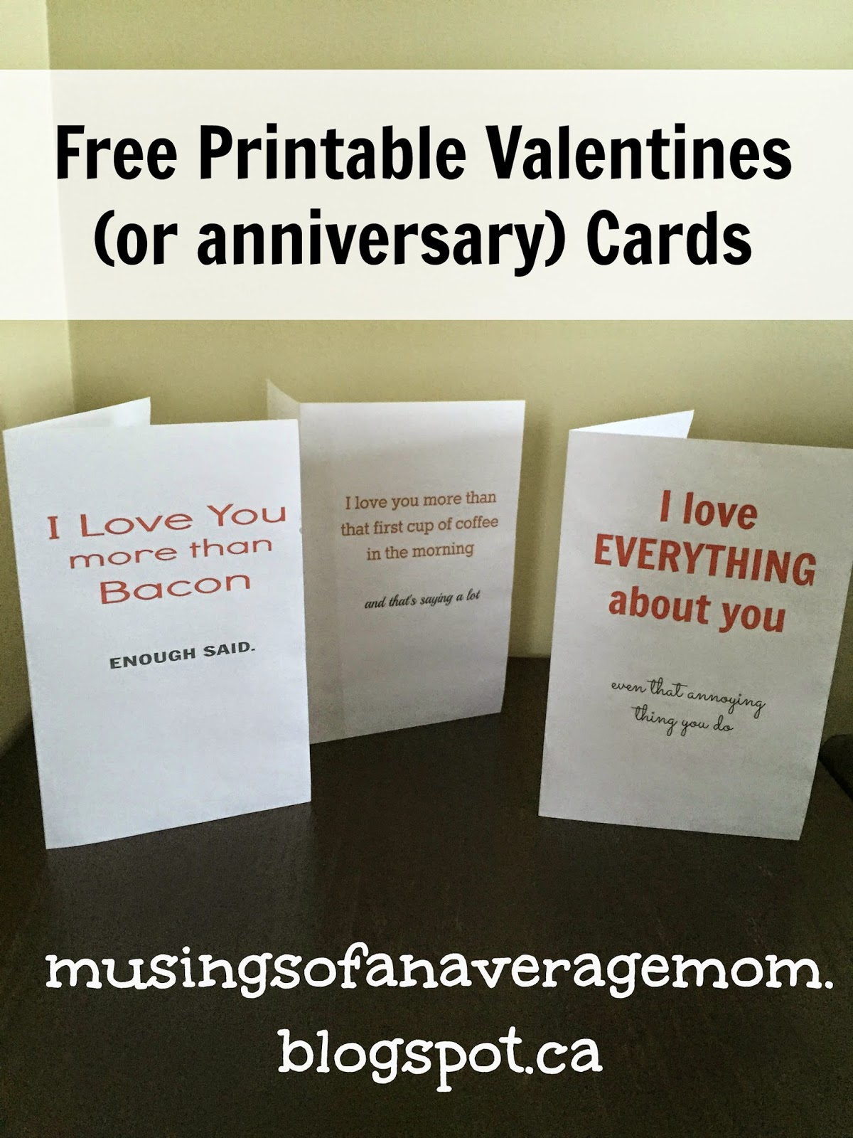 and because i has a bit of a hard time finding cards for your significant other - Make Your Own Anniversary Card