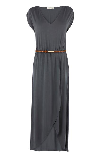 oasis drape maxi dress