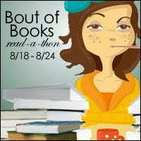 Read-A-Thon! Find my post and books HERE! Click on photo!