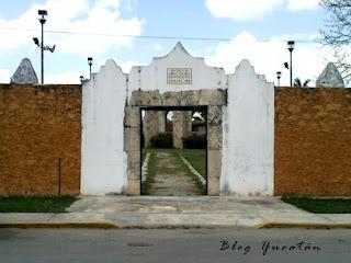 Entrada Museo Arte Sacro Conkal Yucatan