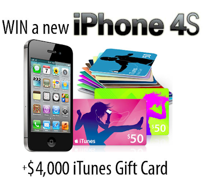 win a iphone 4s