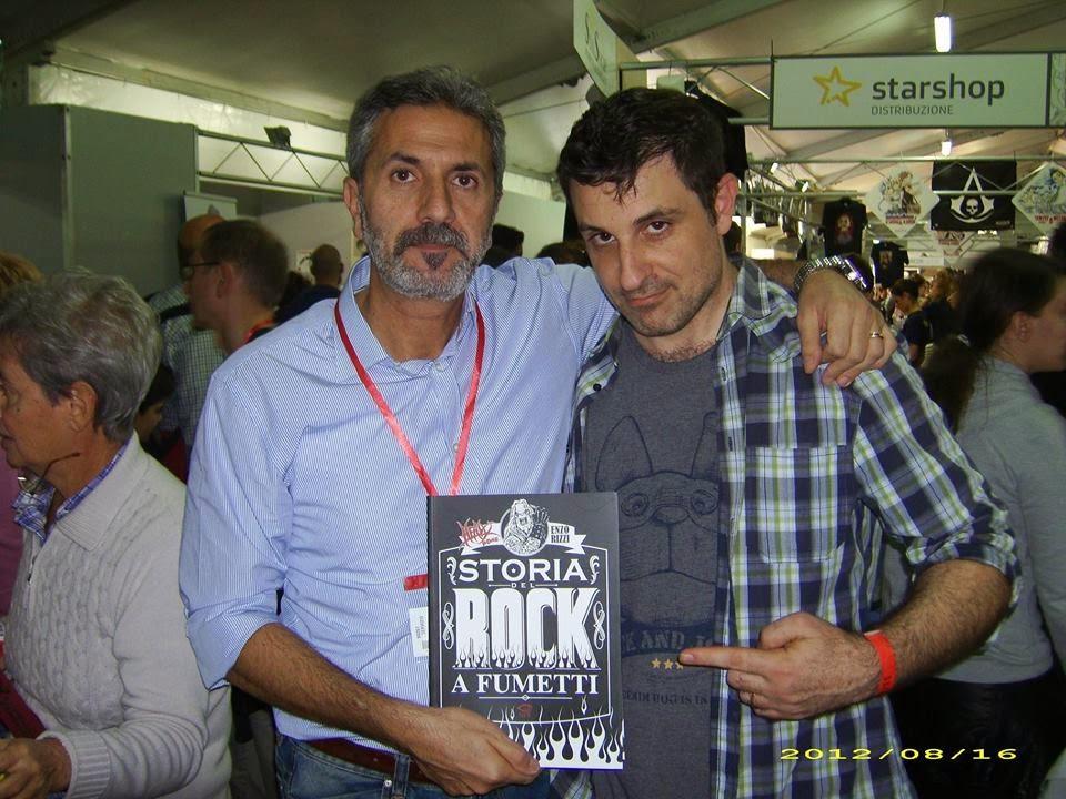 Enzo Rizzi e Francesco Ceccamea