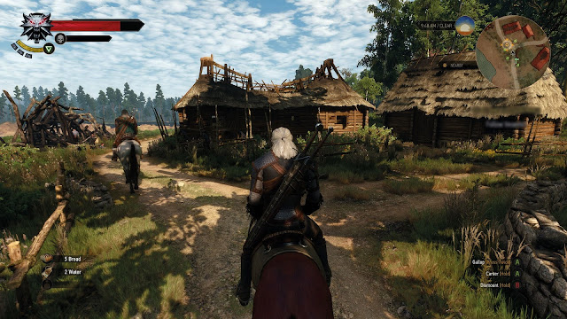 Witcher 3 horse riding
