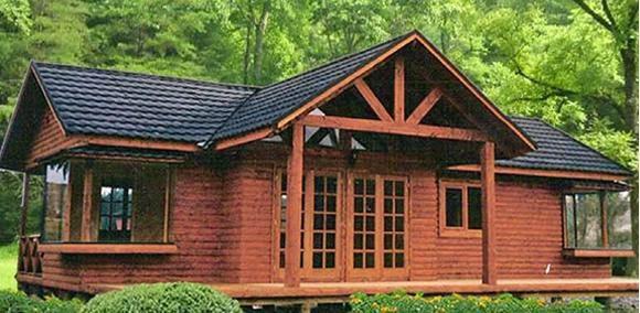 Planos de casas plano de casa de campo - Casas de madera para el campo ...