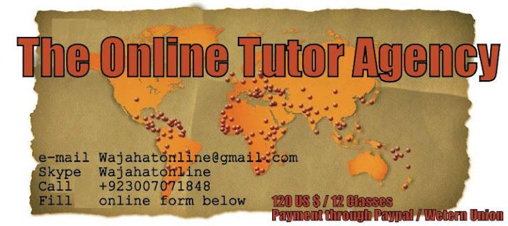 pakistani online tutor