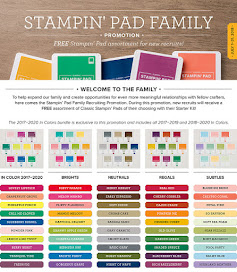 FREE Ink Pad Color Family ($68 value!) in JULY Only!