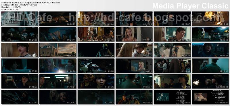 Super 8 2011 video thumbnails