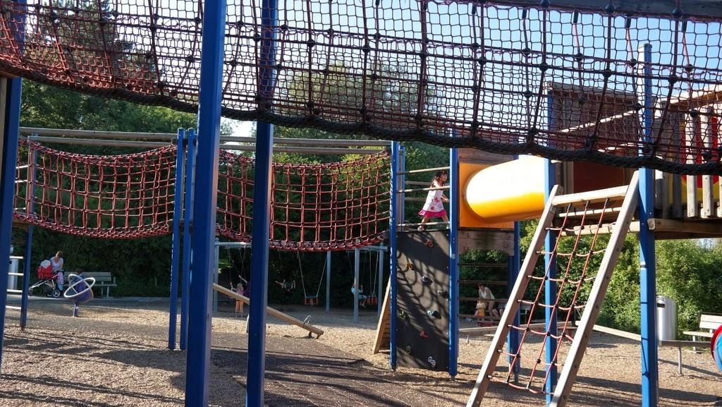 Parque infantil - Park im Grünen - Basel Suíça