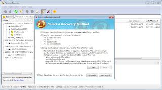 Mengembalikan File dengan Software Pandora Recovery 4