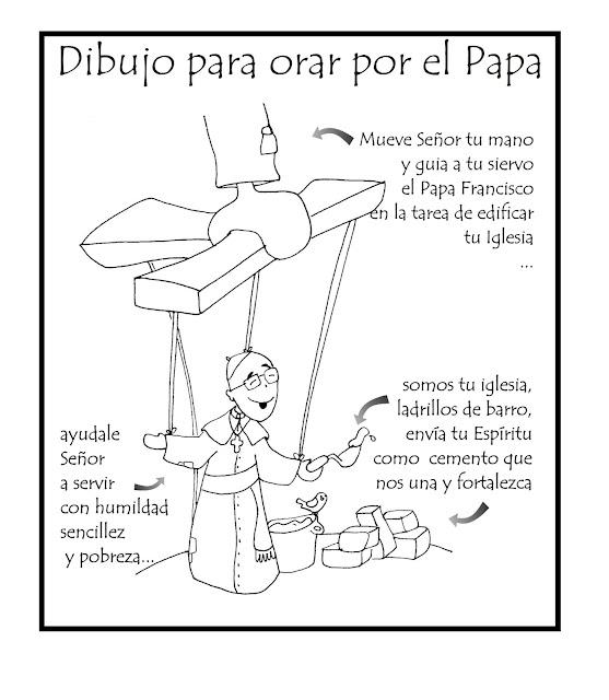 Blog Católico Parroquia Santa María de Baredo-Baiona: Dibujo para ...
