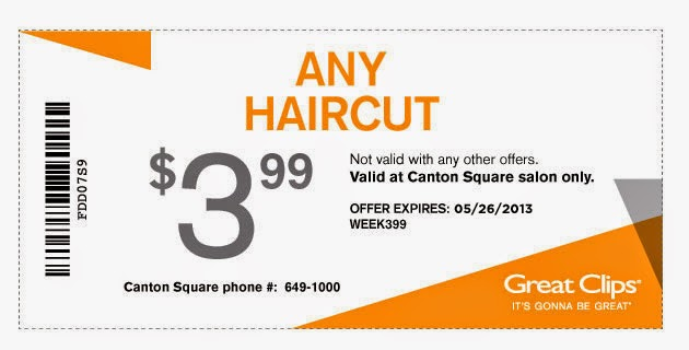 Receive Great Clips promo codes and other top promos in your inbox, free!/5.