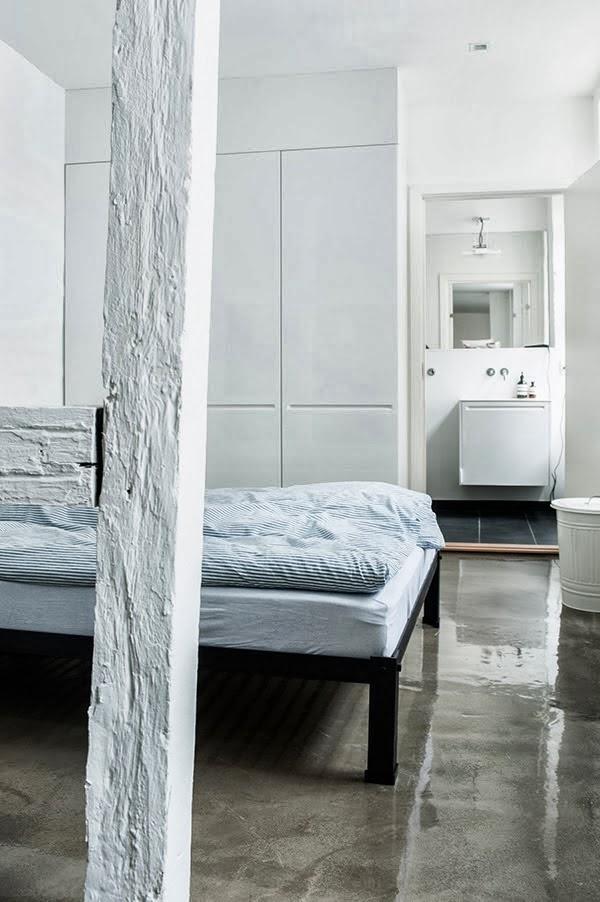 Myke minutter shiny concrete floors for How to make concrete floors shine