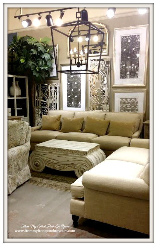Laurie's Home Furnishings-Restoration Hardware Look- From My Front Porch To Yours
