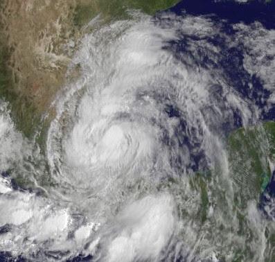 Tropischer Sturm ARLENE macht Landfall bei Cabo Rojo, Veracruz, Mexiko, 2011, aktuell, Arlene, Atlantik, Golf von Mexiko, Hurrikansaison 2011, Mexiko, Puebla, Sturmflut Hochwasser Überschwemmung, Tamaulipas, Touristen, Veracruz,
