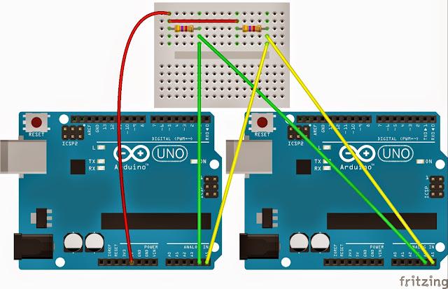 Arduino i c haberleşme elektrik elektronik projeleri