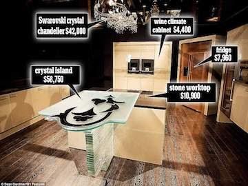 Ini Dia Dapur Termahal di Dunia, Senilai Rp 15,3 Milyar!