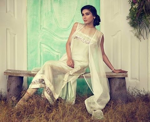 Sana Salman Luxury Pret-2014 for Eid