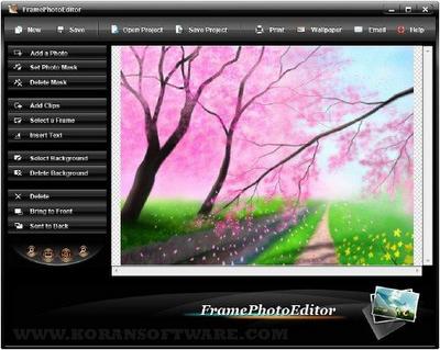 Frame Photo Editor 5.0.0 + Serial