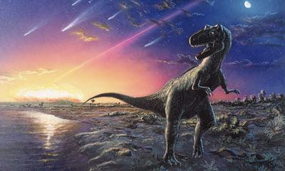 I dinosauri probabilmente si sono estinti a causa della caduta di un asteroide