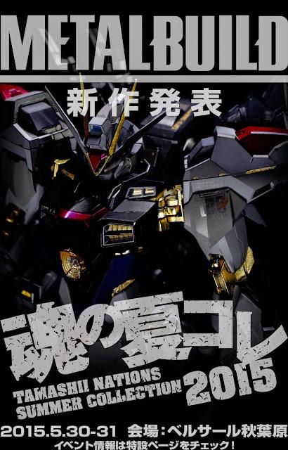 METAL BUILD Strike Freedom Gundam teaser image 00
