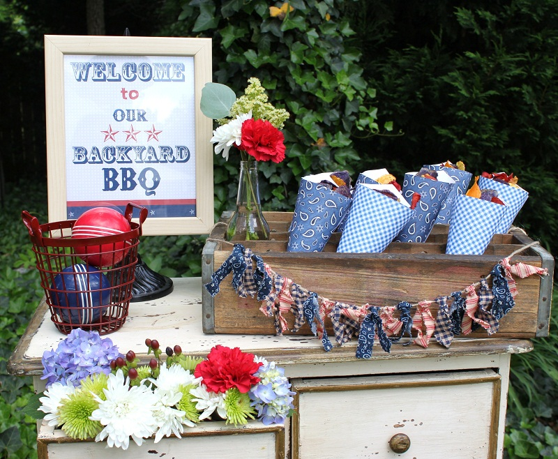 Independence day events by shelbi rene for Backyard bbq decoration ideas