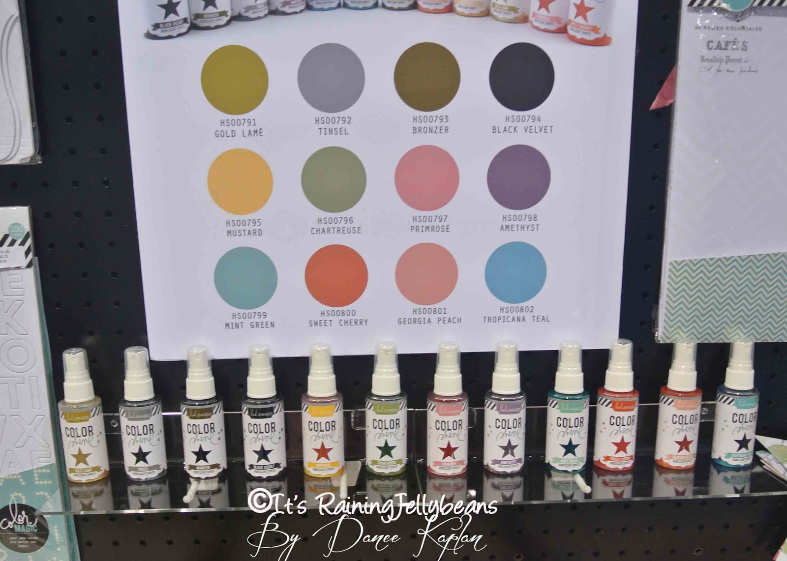 Its raining jellybeans heidi swapp and color heidi has long been a fan of mists and for a long time worked with tattered angles products now she has her own line called color shine nvjuhfo Choice Image