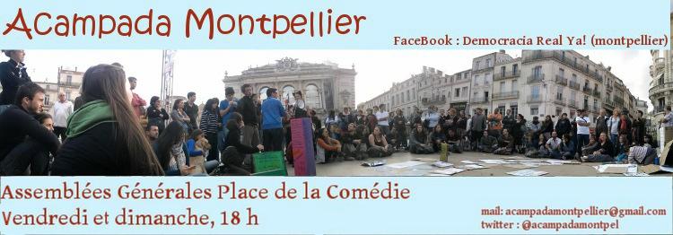 Acampada Montpellier
