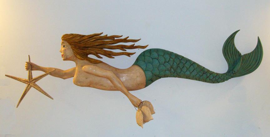 "Mermaid Swimming Drawings ""swimming Mermaid With"