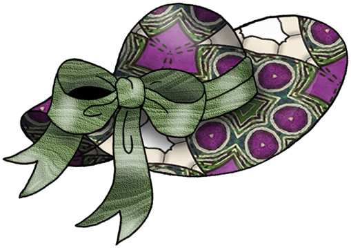 clipart easter bonnets - photo #17