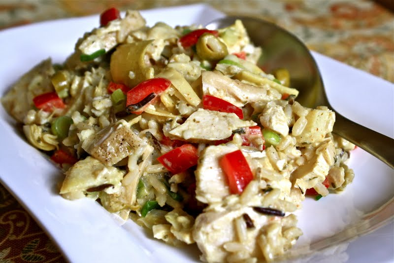 ... Cooks: Cambodian Lemongrass Curry Chicken, Rice and Artichoke Salad