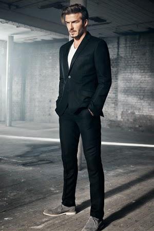 moda hombre David Beckham H&M traje primavera verano 2015